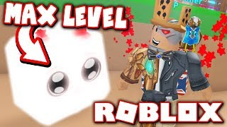 REACHING MAX PET LEVEL in MINING SIMULATOR!! *Haustiere Leveling Update!* (Roblox)