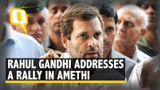Rahul Gandhi Visits His Lok Sabha Constituency Amethi