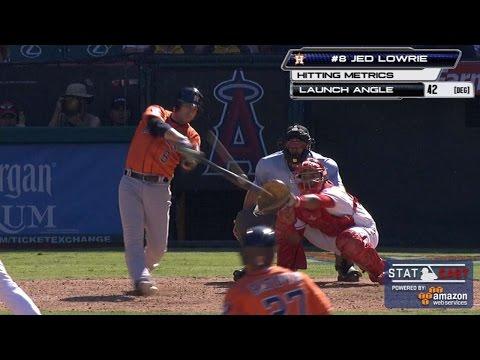 HOU@LAA: Statcast tracks Astros' improbable comeback