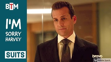 "Suits Season 7 Episode 11 harvey and donna ""I'm Sorry Harvey"" 