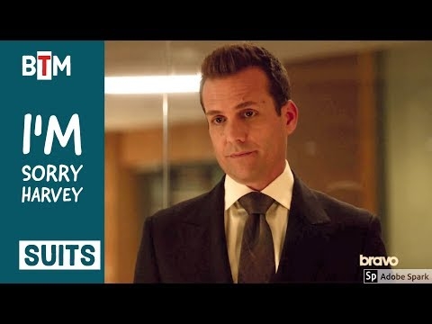 Suits Season 7 Episode 11 harvey and donna