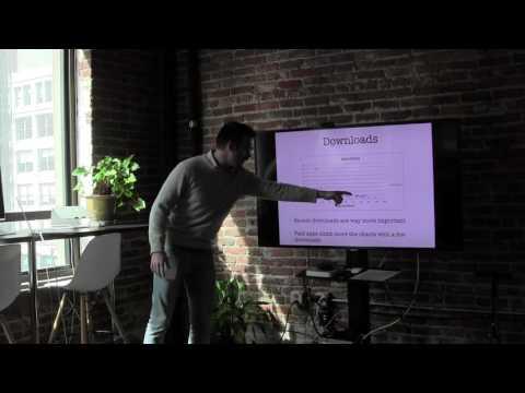 Grio Tech Talk: App store optimization by Paolo Pelattio