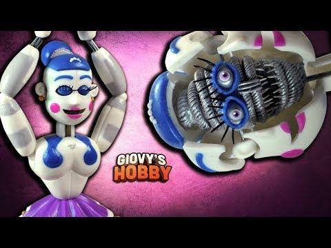 BALLORA TUTORIAL ↩ FNAF SISTER LOCATION ★ Porcelana fria / Air dry clay ✔ Giovy's Hobby