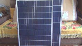 Огромная посылка из Германии. Солнечные панели по 100W и контроллер(Солнечные панели http://www.solar-tronics.de/solarmodule/solarmodul-100-watt-poly.html Контроллер ..., 2016-07-20T19:55:39.000Z)