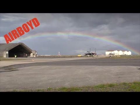 F-15 Air Surveillance At Keflavik Air Base