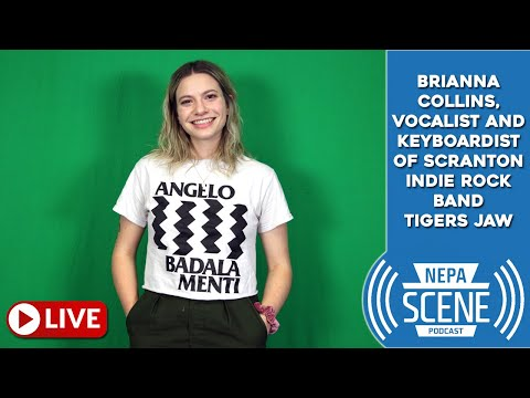 NEPA Scene Podcast Ep. 109 - From Scranton band to national act, Brianna Collins talks Tigers Jaw Mp3