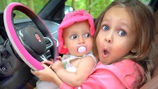 Wir fahren jetzt mit großem Auto - Lustige Regeln für Kinder - Kinderlieder von Maya und Mary