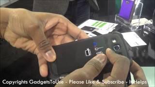 hands on card ninja credit debit card holder for smartphone at ces 2013