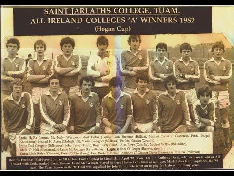 Hogan Cup Final 1982