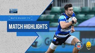 MATCH HIGHLIGHTS   Bath Rugby 47-22 Worcester Warriors