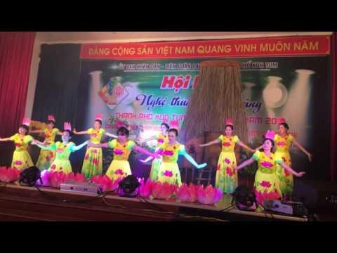 Múa : Hương sen dâng Bác - Biểu diễn : Đoàn phường Quyết Thắng - Kon Tum
