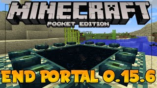 minecraft pe 0 15 6 working end portal in mcpe minecraft pocket edition 0 15 6 end dimension map