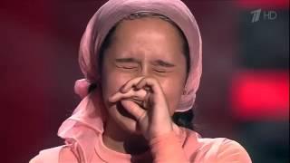Раяна Асланбекова(Чеченка)  Голос Дети 3 2016