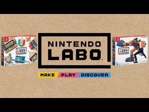 NINTENDO LABO: Nintendo Switch NEW INTERACTIVE EXPERIENCE! |