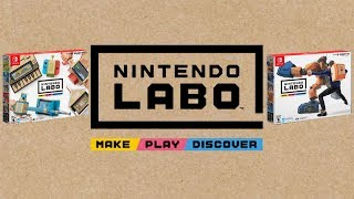 NINTENDO LABO: Nintendo Switch NEW INTERACTIVE EXPERIENCE! | LIVE Reactions With Abdallah!