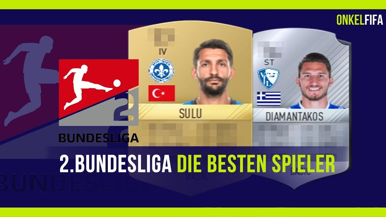 Fifa 18 2bundesliga Die Besten Spieler Youtube