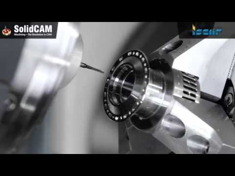 SolidCAM - Drehen & Drehfräsen