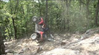Polaris RZR-S Nasty Back Flip Roll Over