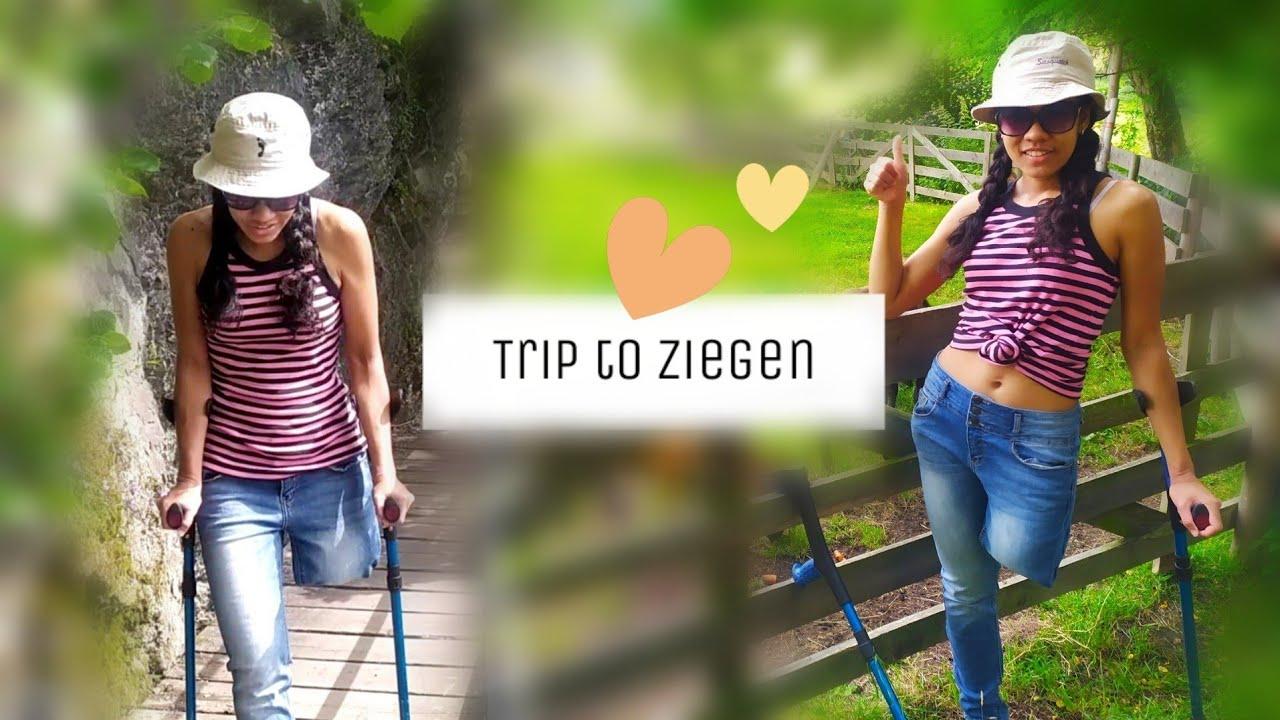 Amputee Carolina: Black Sea! Peg leg and crutches at the