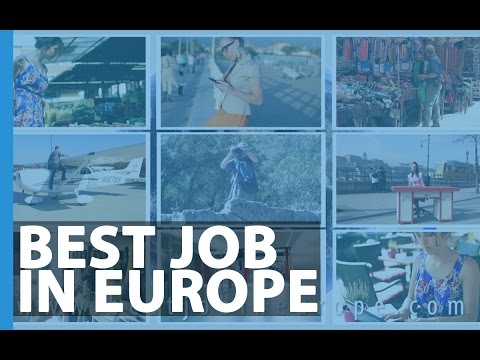 Best Job in Europe - Apply and win