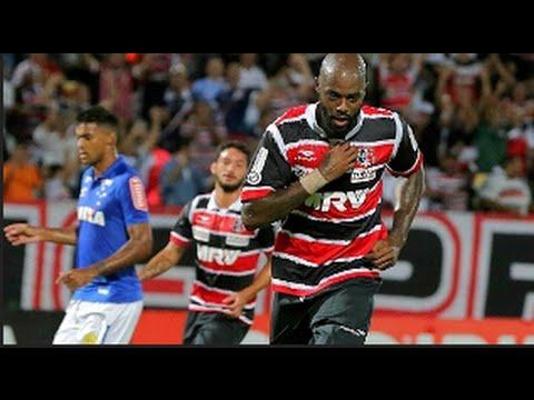 Brasileiro_ Gols de Santa Cruz 4 x 1 Cruzeiro 25/05/2016