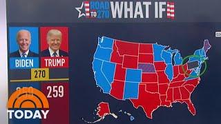 Biden Leads Trump 51-46 Percent In Battleground States, Chuck Todd Says