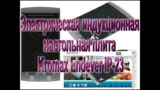 Электрическая индукционная настольная плита Kromax Endever IP 23