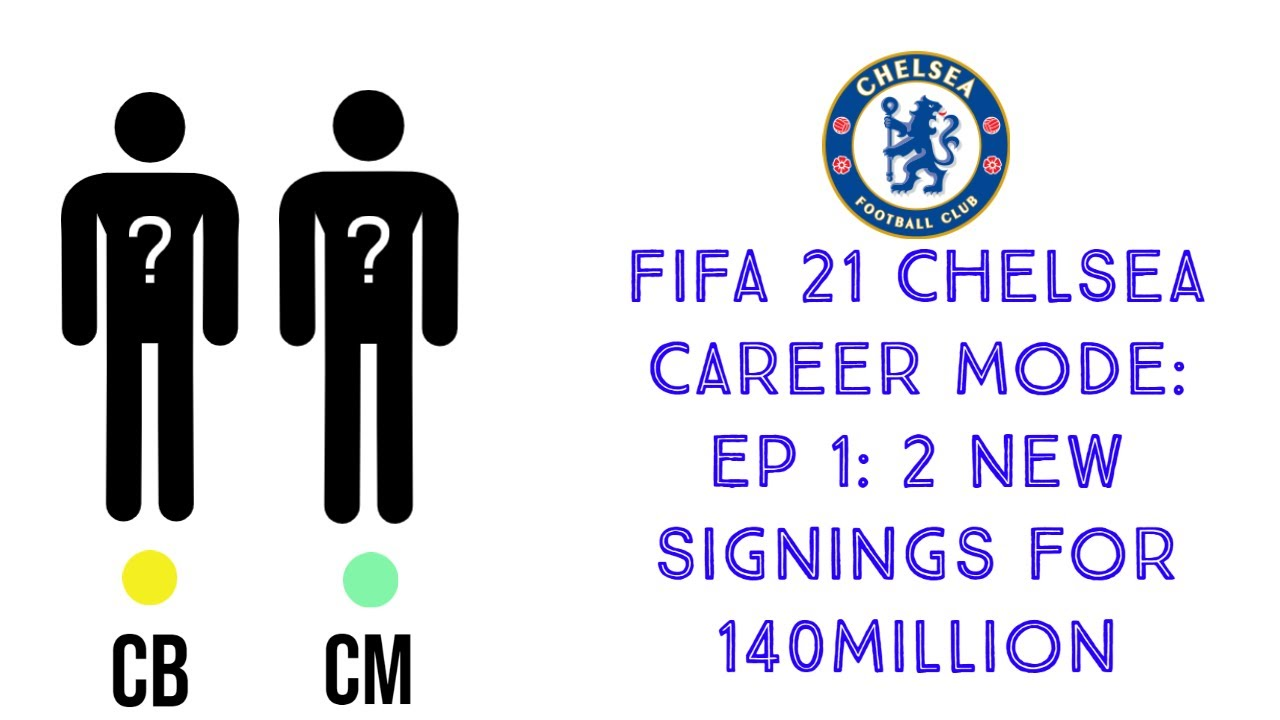 Download FIFA 21 Career mode with Chelsea: EP1 140million for world class players