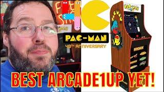 Best Arcade Replica EVER? Aracde1up Pac man 40th Anniversary Review