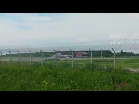 Boeing 737-500 Utair Landing in Ufa UWUU