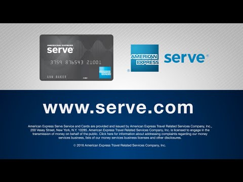 American Express Serve® Cash Back Overview