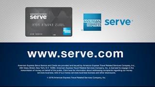 American Express Serve® Cash Back Overview