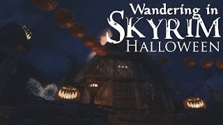 ASMR Gaming Whisper: Wandering in Skyrim - Halloween 2015!