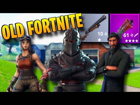 When FORTNITE Was ACTUALLY FUN (Season 1-3 Emotional Nostalgia)