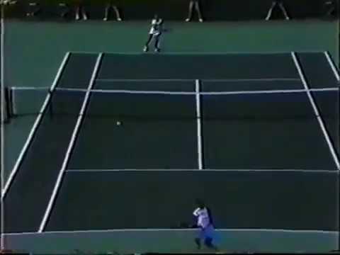 Chris Evert vs Steffi Graf - 1986 Miami Final - Highlights