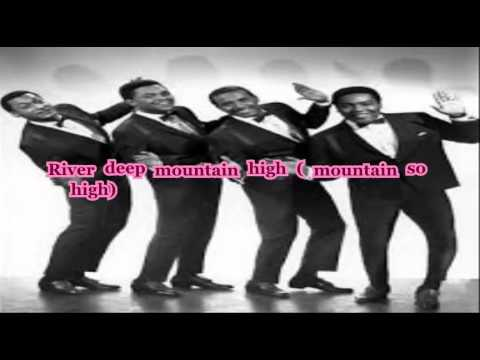 The Supremes & Four Tops - River Deep - Mountain High (with lyrics)