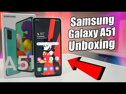 Samsung Galaxy A51 Unboxing & First Impressions!