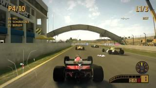 F1 2013 Gameplay Pc on Nvidia gt 210