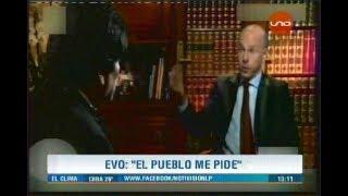 Periodista francés acusa a Evo Morales de DICTADOR
