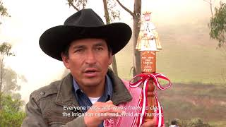 Traditional system of Corongo's water judges