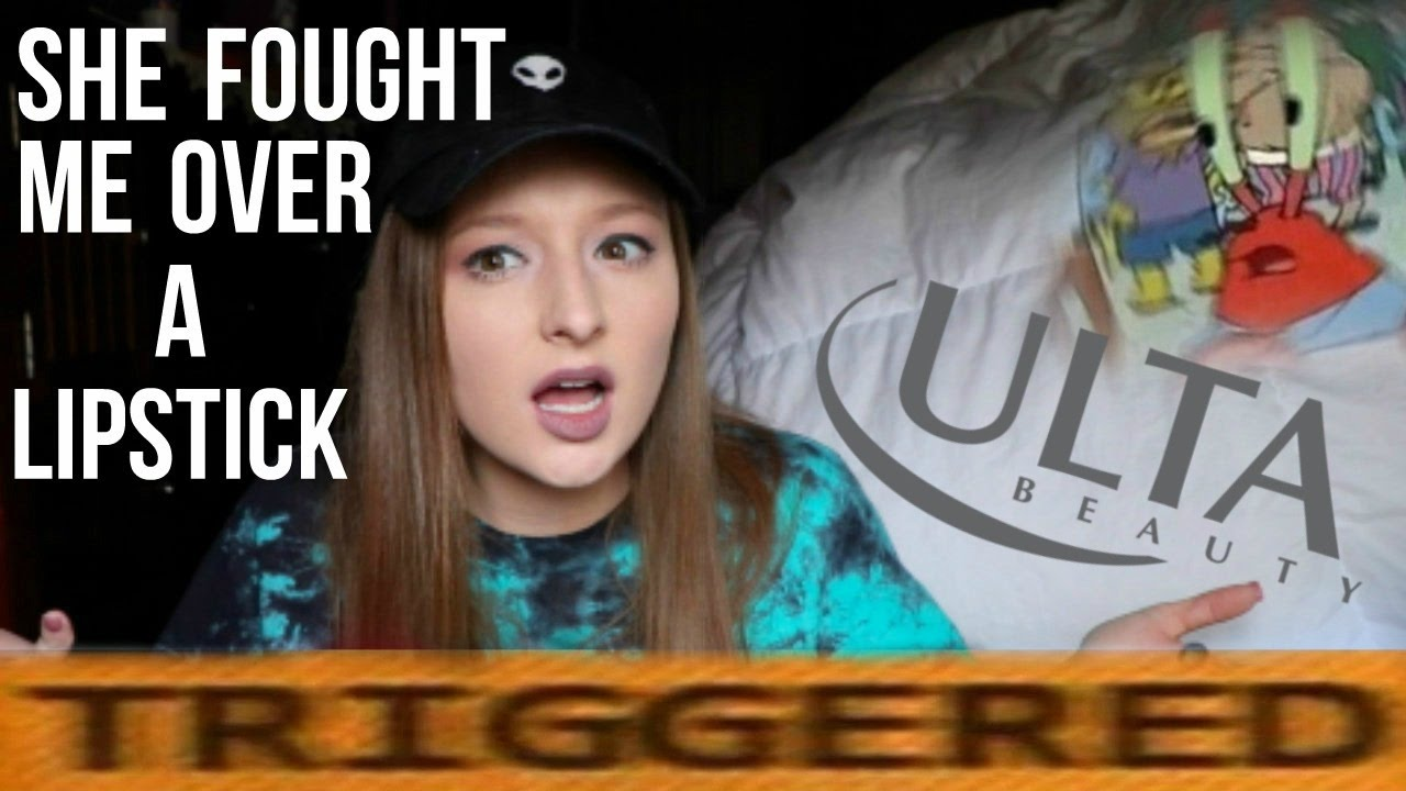 CATFIGHT!!! crazy b**ch at ulta WENT OFF at me - storytime - YouTube