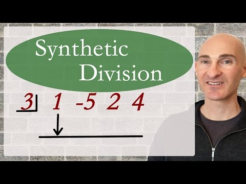How To Do Synthetic Division