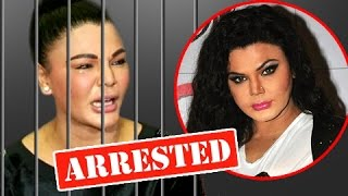 rakhi sawant arrested for her valmiki remarks breaking news