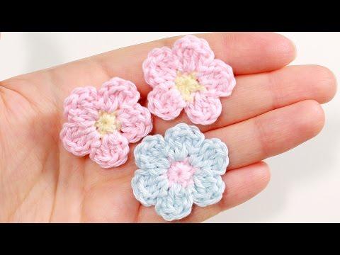 Вязание цветов крючком видео