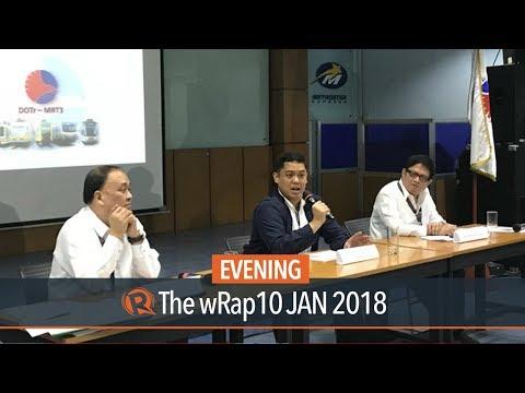 DOTr promises better MRT3 services by 2nd quarter of 2018