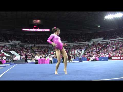 Courtney Kupets: Floor Routine vs Utah 2009 (HD)