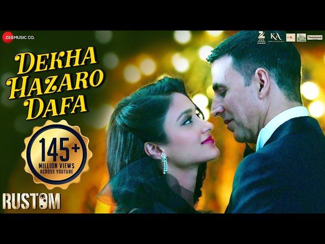 Dekha Hazaro Dafaa | Rustom | Akshay Kumar & Ileana D'cruz | Arijit Singh , Palak M| Jeet Gannguli