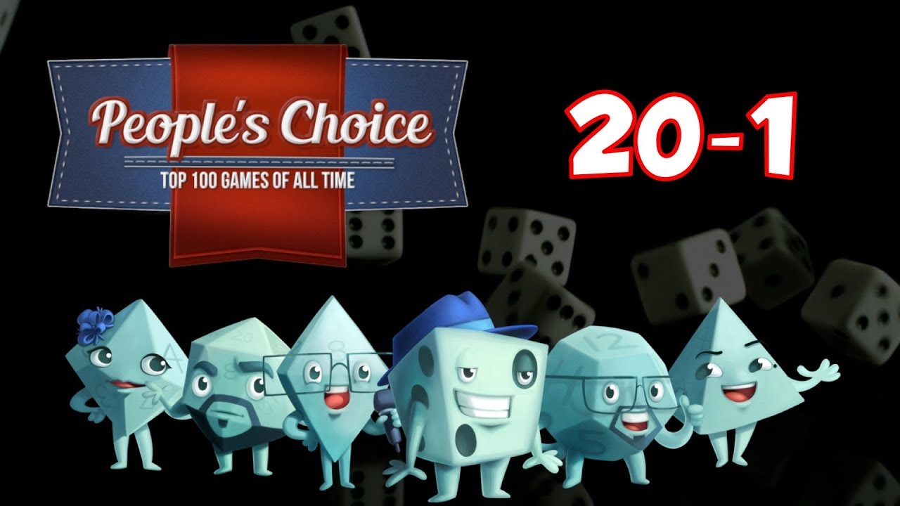 People's Choice Top 100 Games of All Time: #20 - #1