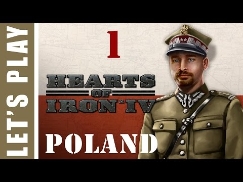 Hearts of Iron IV Pugnacious Poland Let's Play 1