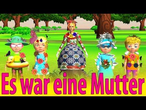 es war eine mutter kinderlieder deutsch kinderli doovi